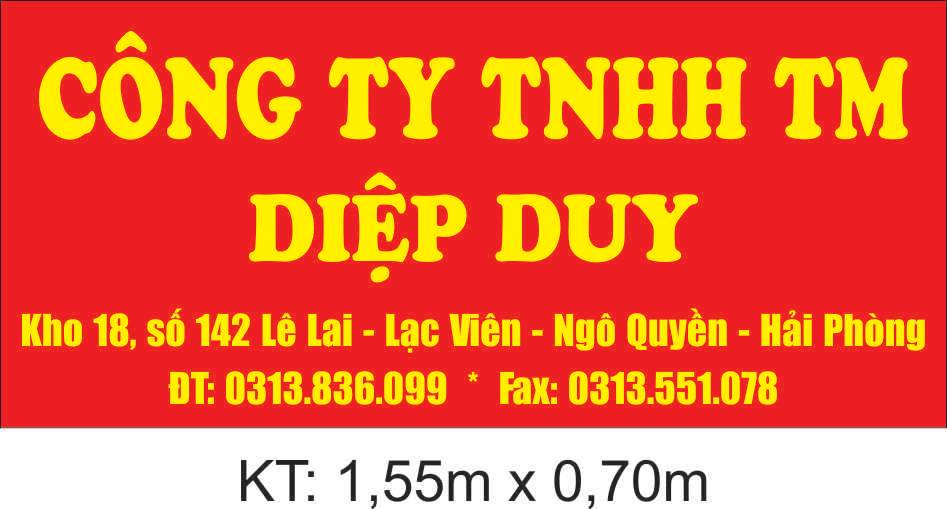 cong ty diep duy hai phong